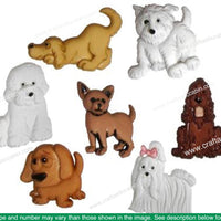Jesse James Embellishments Puppy Parade