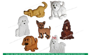 Jesse James Embellishments Puppy Parade | Craftastic Cabin Inc