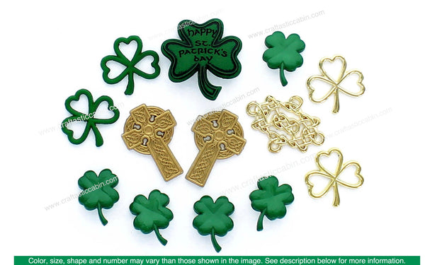 Jesse James Embellishments St Patrick's Celtic Creations | Craftastic Cabin Inc
