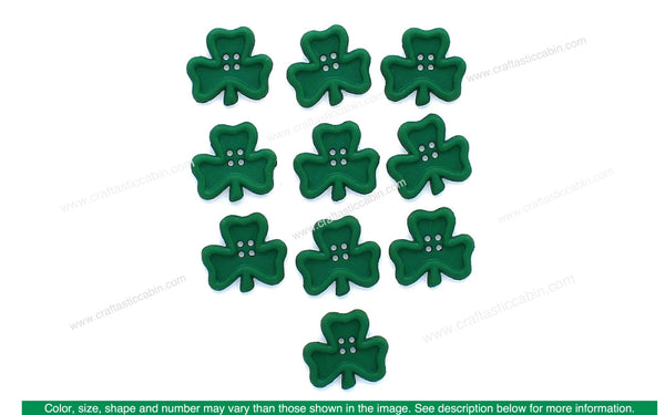 Jesse James Embellishments St Patrick's Irish Charm | Craftastic Cabin Inc