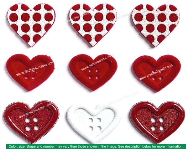 Jesse James Embellishments Valentine Gift Of Love | Craftastic Cabin Inc