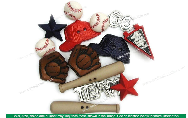 Jesse James Dress It Up Sports Baseball | Craftastic Cabin Inc