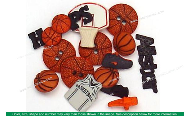 Jesse James Dress It Up Sports Basketball | Craftastic Cabin Inc