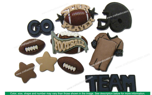 Jesse James Dress It Up Sports Football | Craftastic Cabin Inc