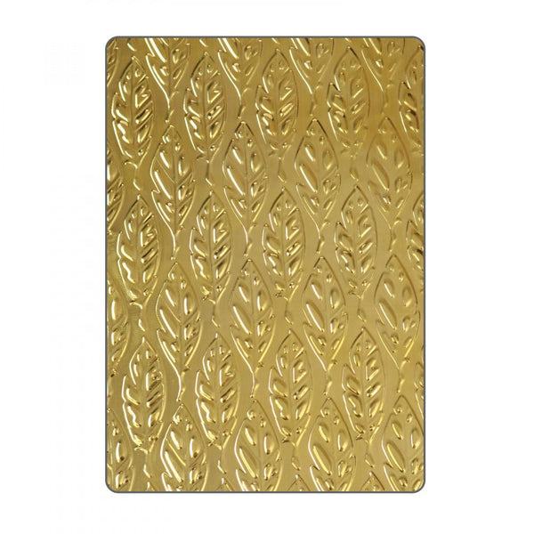 Sizzix Embossing Folders Katelyn Lizardi 3D Textured Impressions Feathers | Craftastic Cabin Inc