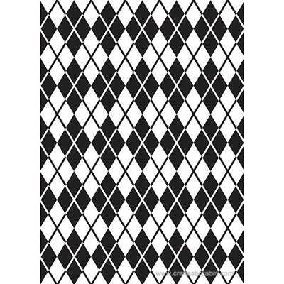 Darice® Embossing Folder ARGYLE 5X7