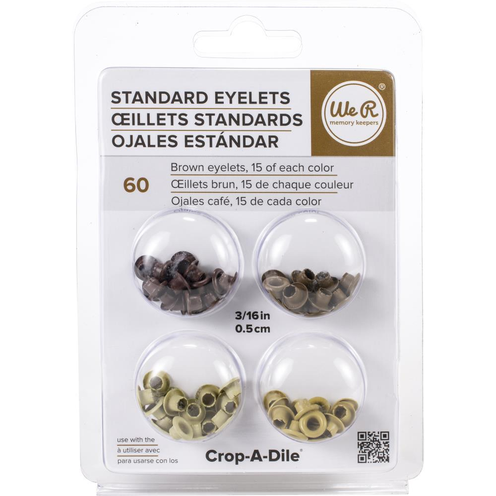 We R Memory Eyelets Crop-A-Dile - Standard Brown