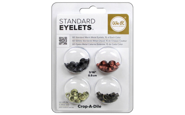 We R Memory Eyelets Crop-A-Dile - Warm Metals | Craftastic Cabin Inc