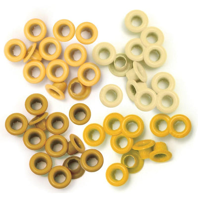 We R Memory Eyelets Crop-A-Dile - Standard Yellow