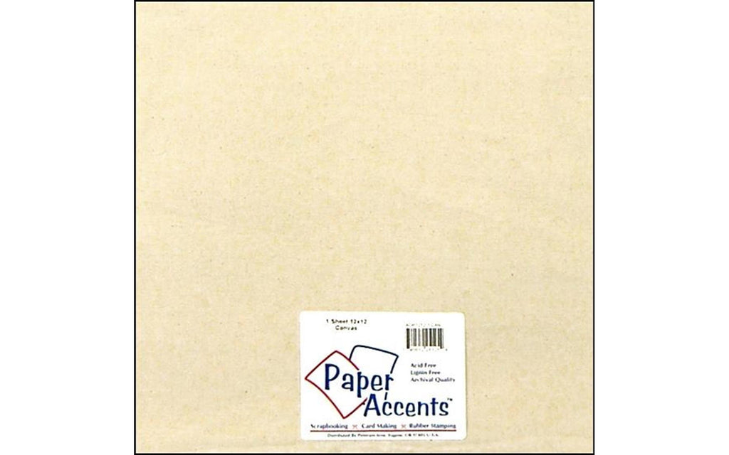 "Paper Accents Fabric Sheets - 12""x 12"" Canvas - Multiple Colors!!"