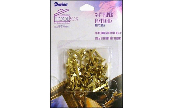 Darice Office Tool Box Paper Fastener 3/4