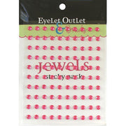 Adhesive Jewels 5mm 100/Pkg Pink