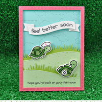 Lawn Fawn Before 'n Afters Stamps: Get Well