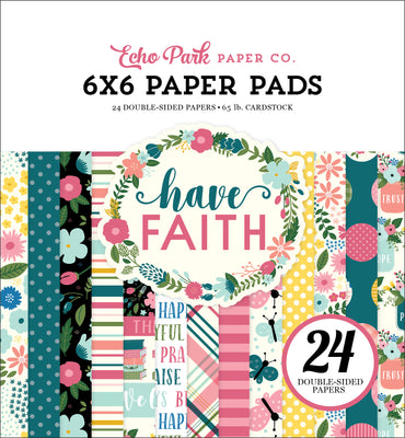 Carta Bella HAVE FAITH Paper Pad 6