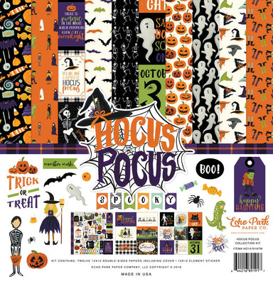 Carta Bella Hocus Pocus 12x12 Page Kit