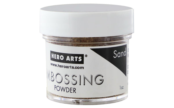 Hero Arts Embossing Powder Sand 1oz | Craftastic Cabin Inc
