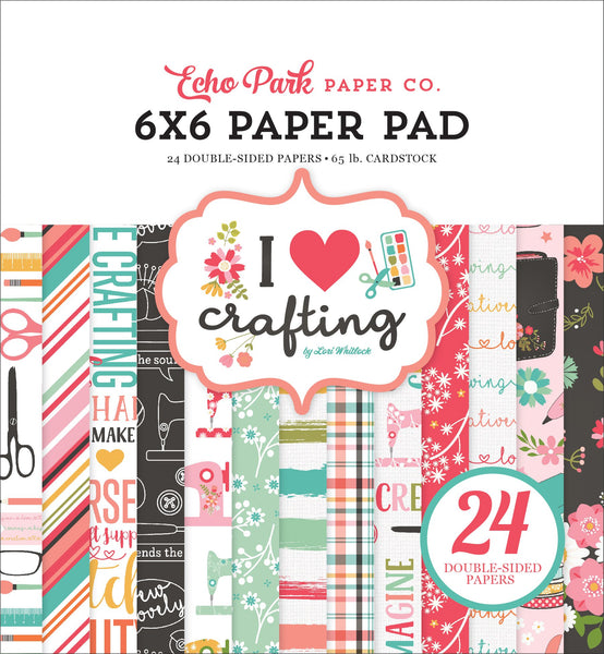 Carta Bella Collection I HEART CRAFTING Paper Pad 6