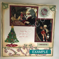 "12""x12"" CAPTURE Package up to 30 photos Custom Scrapbooking Album"