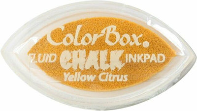 ColorBox Fluid Chalk Cat's Eye Ink Pad Yellow Citrus