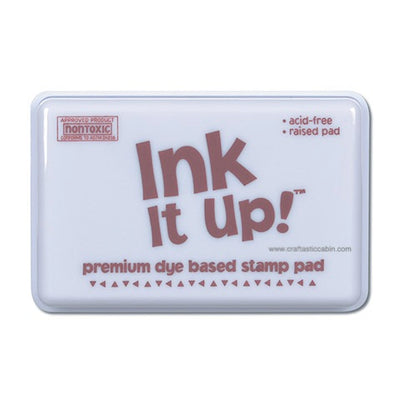 Dye Based Stamp Pads Chocolate Brown