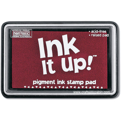 Ink It Up! Dye Based Stamp Pads - Cranberry