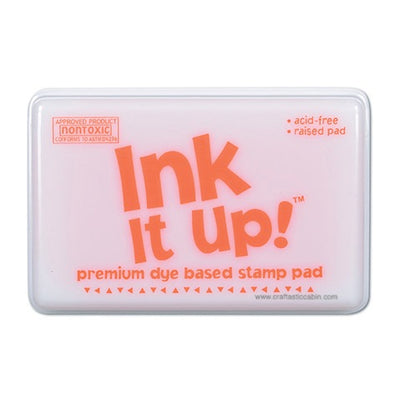 Dye Based Stamp Pads - Orange