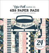 "Carta Bella JUST MARRIED Paper Pad 6""x 6"""