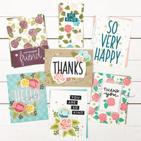 "Concord & 9th Clear Stamps 6""X8"" - KINDNESS BLOOMS TURNABOUT™ STAMP SET"
