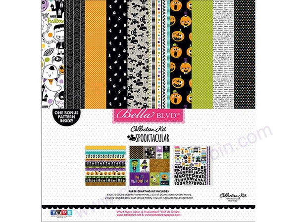 Bella Blvd Collection Spooktacular 12x12 Page Kit | Craftastic Cabin Inc