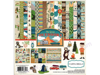 Carta Bella Great Outdoors Collection Kit 12