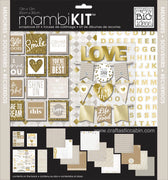 "Me & My Big Ideas Kit 12""x 12"" All About Neutrals Memories"