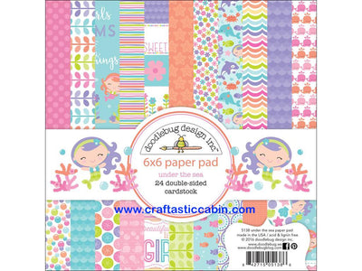 Doodlebug Collection Under The Sea Paper Pad 6