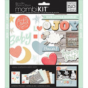 "Me & My Big Ideas Kit Scrapbook 8""x 8"" Brand New Baby"