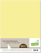 Lawn Fawn 100lb cardstock Sticky Note