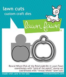 Lawn Fawn Reveal Wheel Pick of the Patch Add-On Die | Craftastic Cabin Inc