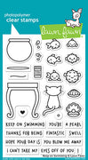 Lawn Fawn Reveal Wheel Keep On Swimming Stamps