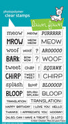Lawn Fawn Critter Chatter Pets Stamps