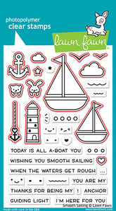 Lawn Fawn Cuts - Smooth Sailing Dies | Craftastic Cabin Inc