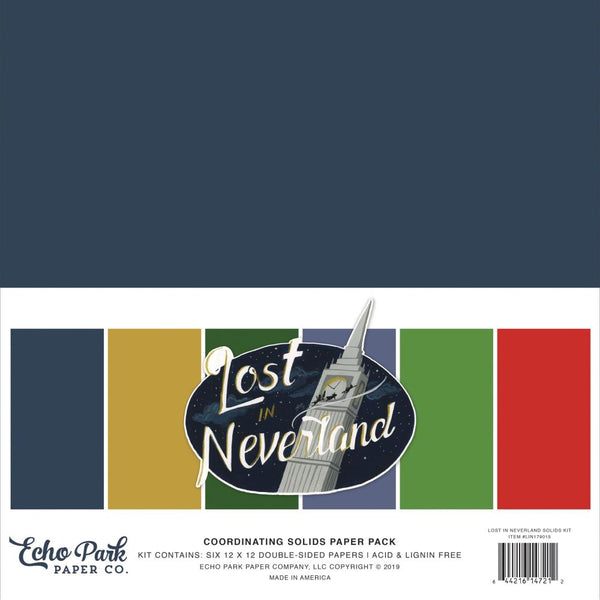 Lost in Neverland Solids Kit 12