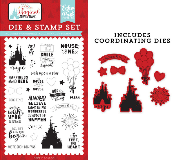 Echo Park Our Favorite Thing Die & Stamp Set | Craftastic Cabin Inc