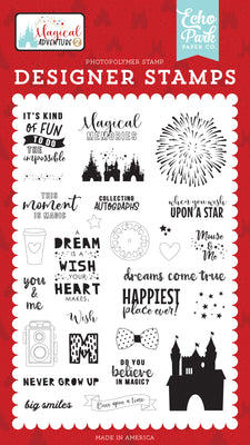 Dreams Come True 4x6 Stamp Set