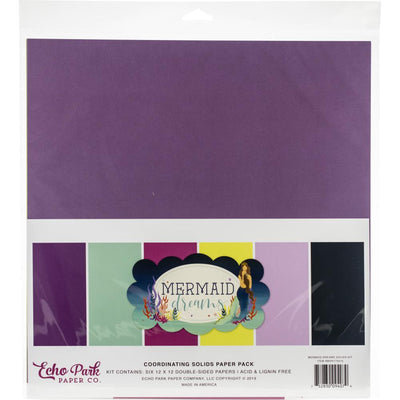 Echo Park Mermaid Dreams Solids Kit
