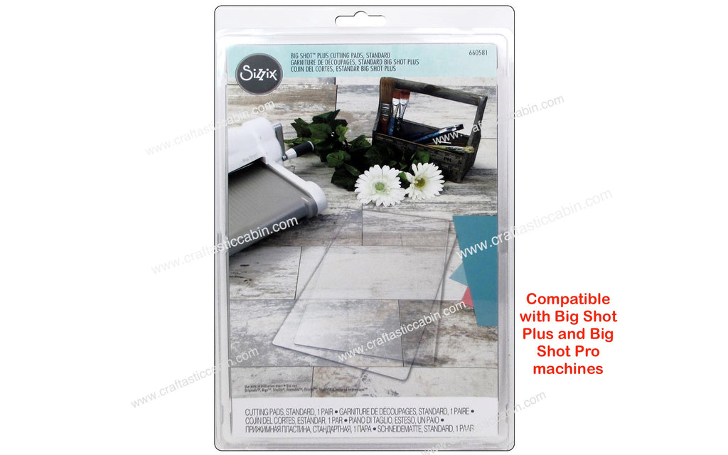 Sizzix Cutting Machine & Accessories BIG SHOT PLUS Cutting Pad Standard 1pr 660581
