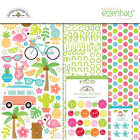 "Doodlebug Collection Fun In The Sun Paper Pack 12""x 12"""