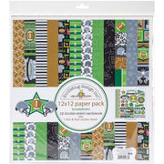 Doodlebug Essentials Page Kit Touchdown