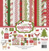I Love Christmas Collection Page Kit
