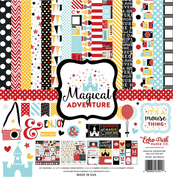 Echo Park Collection Magical Adventure Collection Kit 12