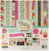 "Party Time Scrapbooking Kit 12""x 12"""