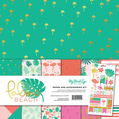 My Mind's Eye Palm Beach Paper Accessories