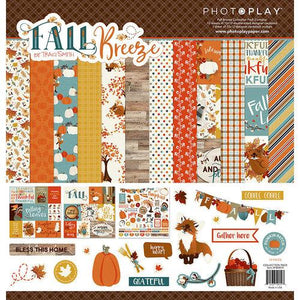 "Photo Play Fall Breeze Collection Paper Kit 12""x 12"""